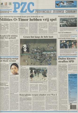 Provinciale Zeeuwse Courant 1999-09-06