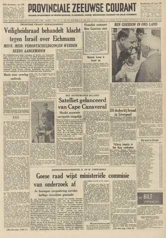 Provinciale Zeeuwse Courant 1960-06-23