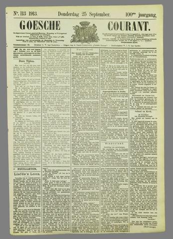 Goessche Courant 1913-09-25