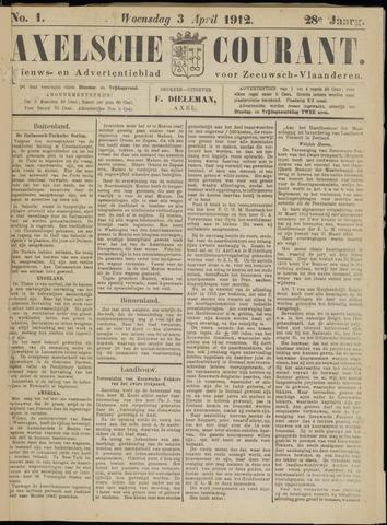 Axelsche Courant 1912-04-03