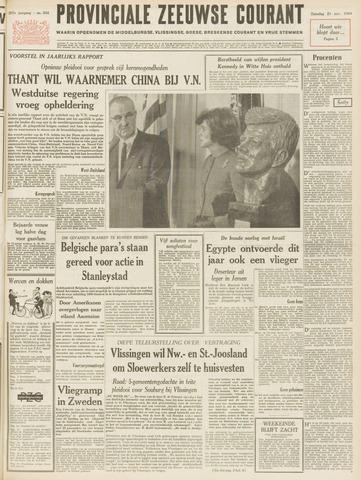 Provinciale Zeeuwse Courant 1964-11-21