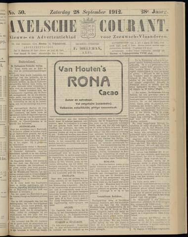 Axelsche Courant 1912-09-28