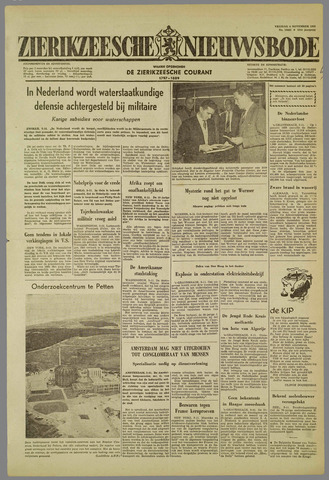 Zierikzeesche Nieuwsbode 1959-11-06