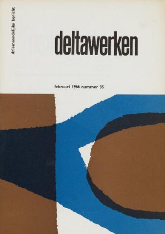 Driemaandelijks bericht Deltawerken 1966-02-01