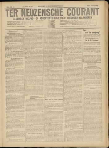 Ter Neuzensche Courant. Algemeen Nieuws- en Advertentieblad voor Zeeuwsch-Vlaanderen / Neuzensche Courant ... (idem) / (Algemeen) nieuws en advertentieblad voor Zeeuwsch-Vlaanderen 1936-12-11