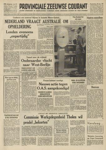 Provinciale Zeeuwse Courant 1962-01-25