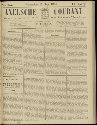 Axelsche Courant 1895-07-17
