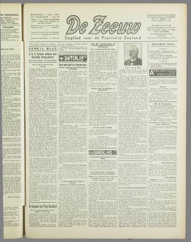 De Zeeuw. Christelijk-historisch nieuwsblad voor Zeeland 1938