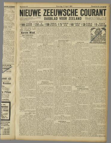 Nieuwe Zeeuwsche Courant 1921-04-16