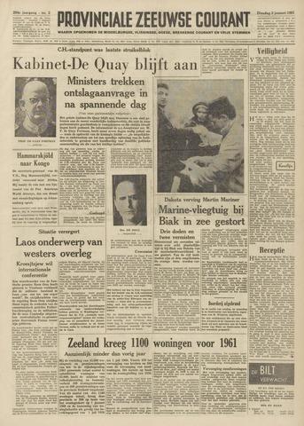 Provinciale Zeeuwse Courant 1961-01-03