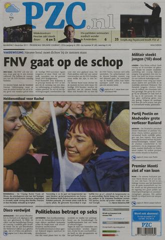 Provinciale Zeeuwse Courant 2011-12-05