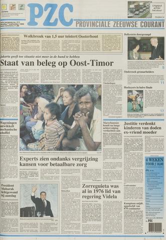 Provinciale Zeeuwse Courant 1999-09-07