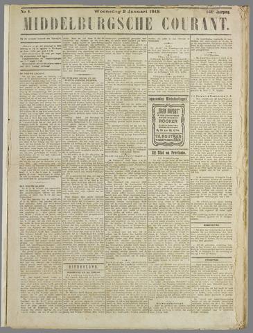 Middelburgsche Courant 1918
