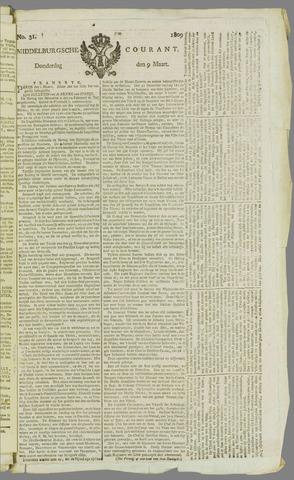 Middelburgsche Courant 1809-03-09