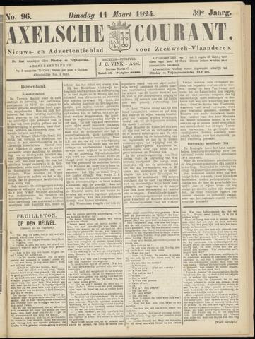 Axelsche Courant 1924-03-11