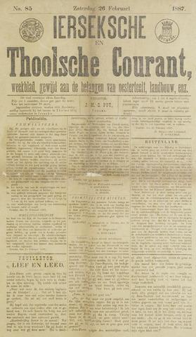 Ierseksche en Thoolsche Courant 1887-02-26