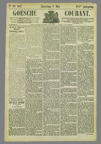 Goessche Courant 1917-05-05
