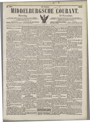 Middelburgsche Courant 1899-11-13