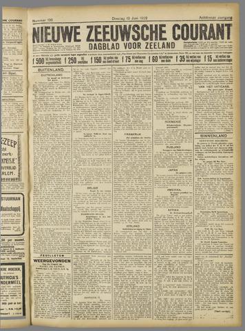 Nieuwe Zeeuwsche Courant 1922-06-13