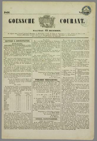 Goessche Courant 1851-12-15