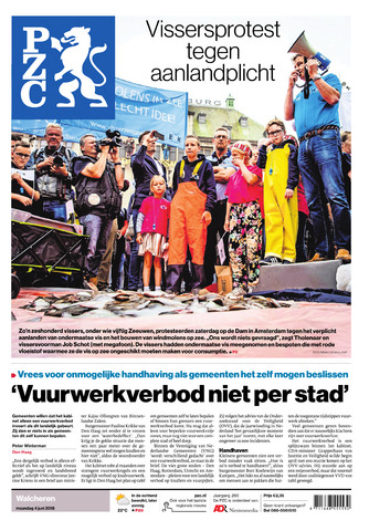 Provinciale Zeeuwse Courant 2018-06-04