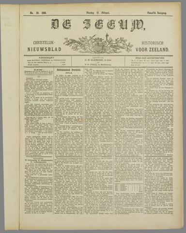 De Zeeuw. Christelijk-historisch nieuwsblad voor Zeeland 1898-02-15