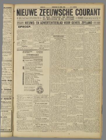 Nieuwe Zeeuwsche Courant 1925-04-23