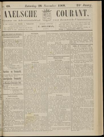 Axelsche Courant 1908-11-28