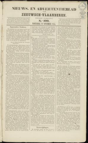 Ter Neuzensche Courant. Algemeen Nieuws- en Advertentieblad voor Zeeuwsch-Vlaanderen / Neuzensche Courant ... (idem) / (Algemeen) nieuws en advertentieblad voor Zeeuwsch-Vlaanderen 1855-11-28