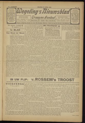Zeeuwsch Nieuwsblad/Wegeling's Nieuwsblad 1931-04-10