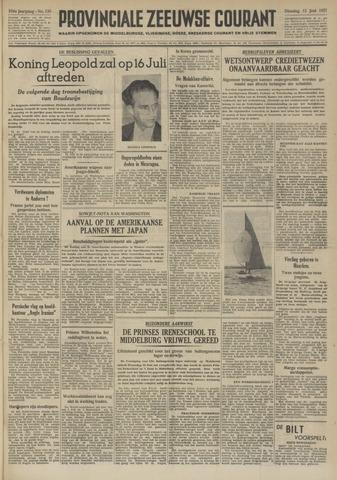 Provinciale Zeeuwse Courant 1951-06-12
