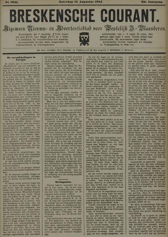 Breskensche Courant 1914-08-15