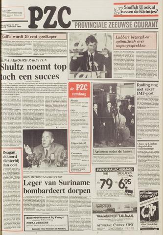 Provinciale Zeeuwse Courant 1986-10-14