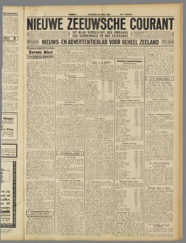 Nieuwe Zeeuwsche Courant 1933-04-29