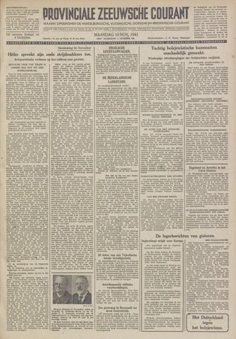 Provinciale Zeeuwse Courant 1941-11-10
