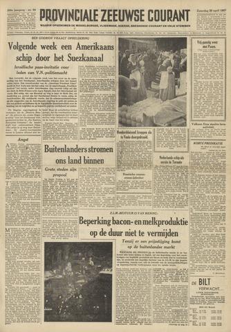Provinciale Zeeuwse Courant 1957-04-20
