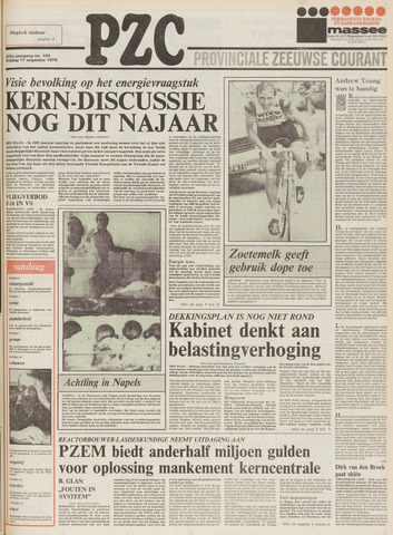 Provinciale Zeeuwse Courant 1979-08-17