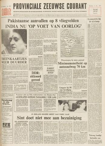 Provinciale Zeeuwse Courant 1971-12-04
