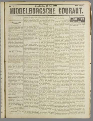 Middelburgsche Courant 1925-07-23