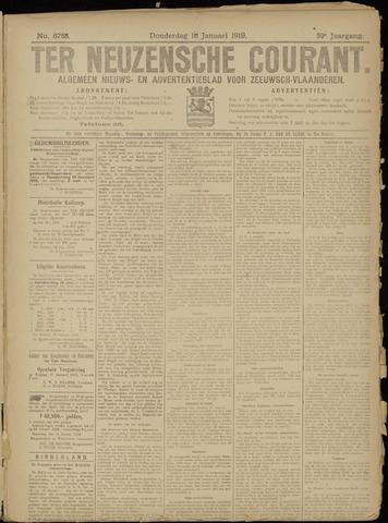 Ter Neuzensche Courant. Algemeen Nieuws- en Advertentieblad voor Zeeuwsch-Vlaanderen / Neuzensche Courant ... (idem) / (Algemeen) nieuws en advertentieblad voor Zeeuwsch-Vlaanderen 1919-01-16