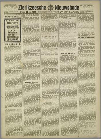 Zierikzeesche Nieuwsbode 1922-01-20