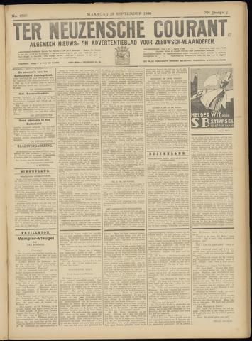 Ter Neuzensche Courant. Algemeen Nieuws- en Advertentieblad voor Zeeuwsch-Vlaanderen / Neuzensche Courant ... (idem) / (Algemeen) nieuws en advertentieblad voor Zeeuwsch-Vlaanderen 1930-09-29