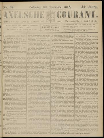 Axelsche Courant 1918-11-30