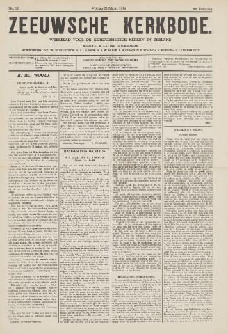 Zeeuwsche kerkbode, weekblad gewijd aan de belangen der gereformeerde kerken/ Zeeuwsch kerkblad 1936-03-20