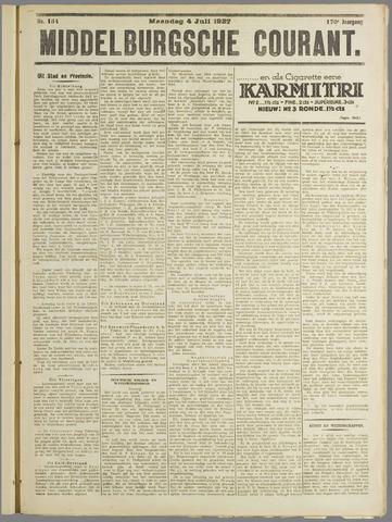 Middelburgsche Courant 1927-07-04