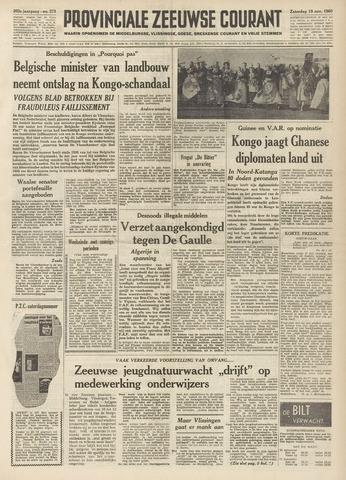 Provinciale Zeeuwse Courant 1960-11-19