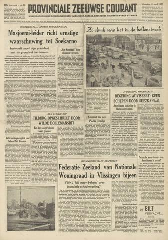Provinciale Zeeuwse Courant 1957-04-08