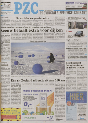 Provinciale Zeeuwse Courant 2006-12-22