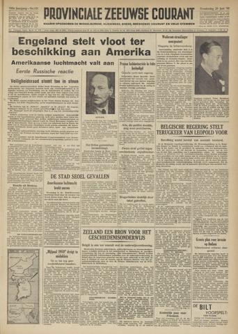 Provinciale Zeeuwse Courant 1950-06-29