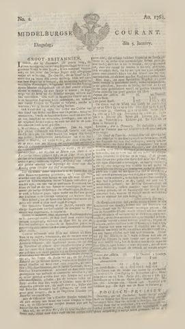 Middelburgsche Courant 1762-01-05